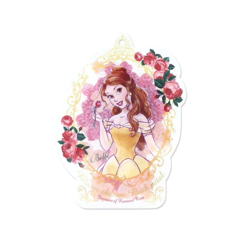 Disney迪士尼公主花瓣泡澡片-貝兒〈玫瑰香〉-1入組