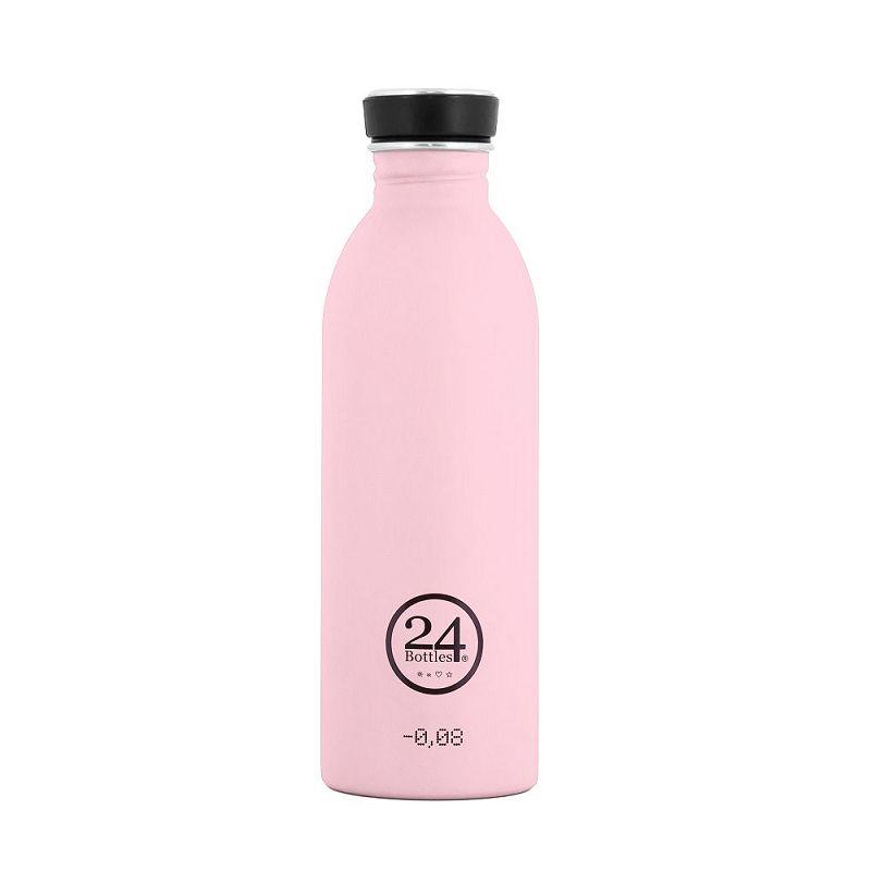 義大利 24Bottles 城市水瓶 500ml - 糖果粉