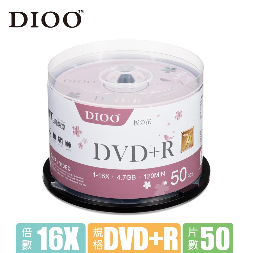 E-books DIOO 櫻花版 16X DVD+R 50片桶