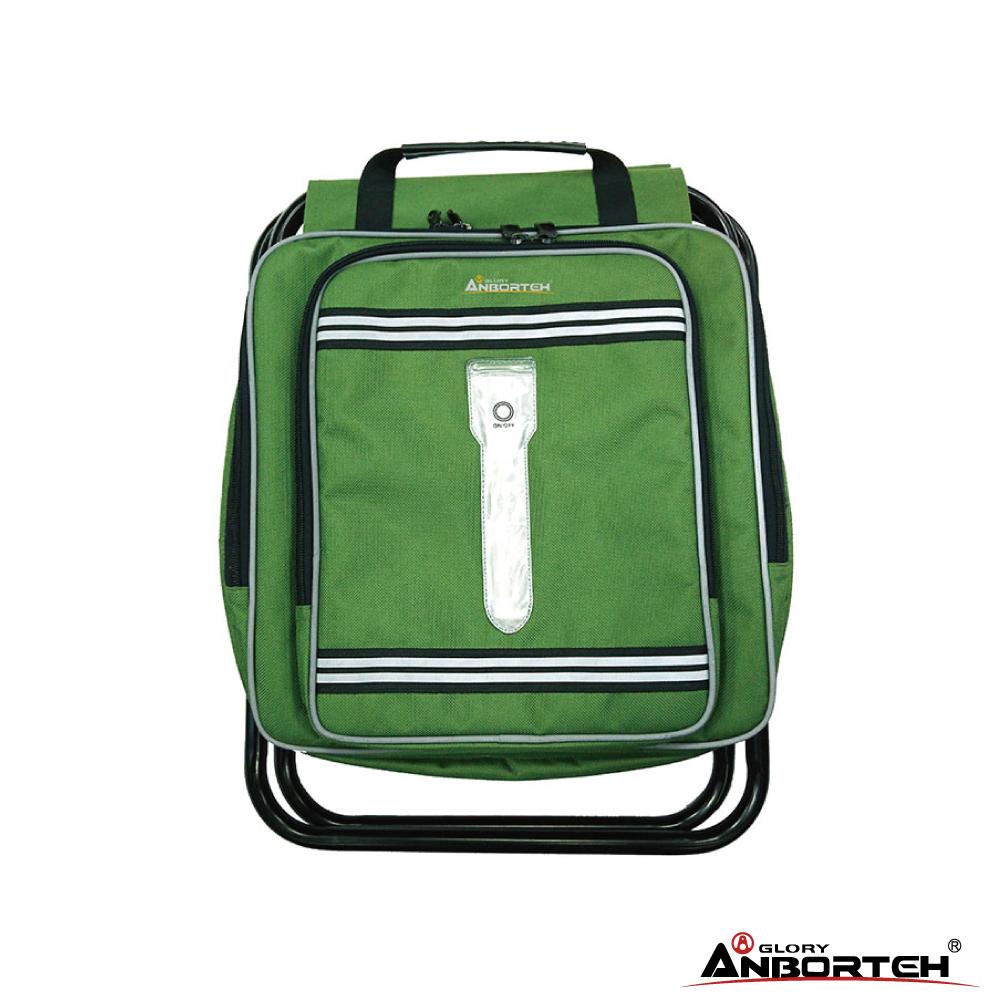 安伯特 極限機能包(迷彩綠) 收納袋 童軍椅背包 排隊椅 保溫袋 健行登山椅 折疊戶外休閒椅