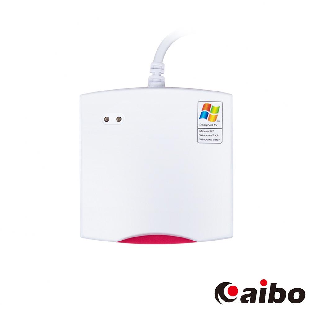 aibo IT-680U ATM晶片讀卡機-桃紅白