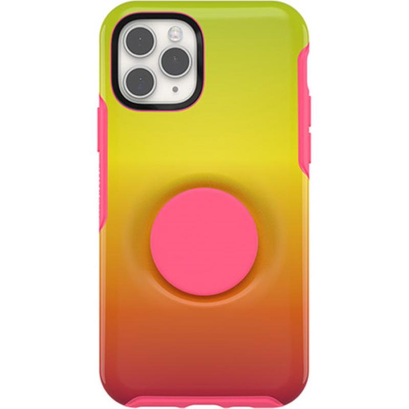 OtterBox 炫彩幾何泡泡騷保護殼iPhone 11 Pro (5.8) 黃橙