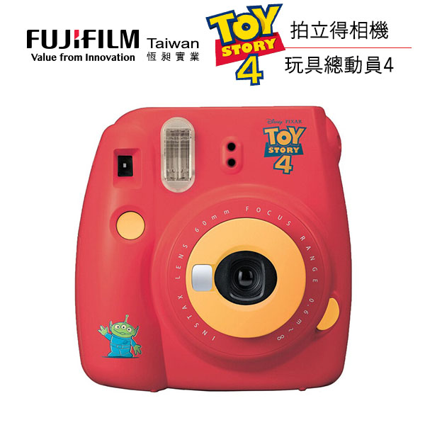 FUJIFILM instax mini 9 ToyStory4 玩具總動員拍立得相機 (公司貨) 限量販售