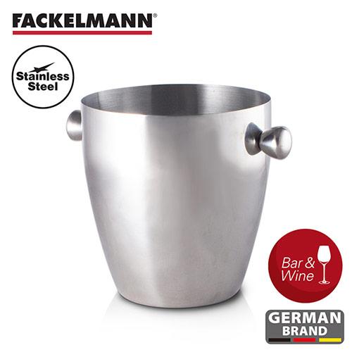 【德國Fackelmann】黑金系列不鏽鋼香檳冰桶