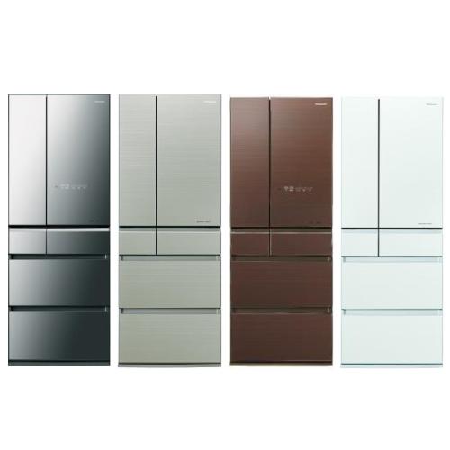 【Panasonic國際牌】600L 變頻6門電冰箱-翡翠棕 NR-F604HX-T1