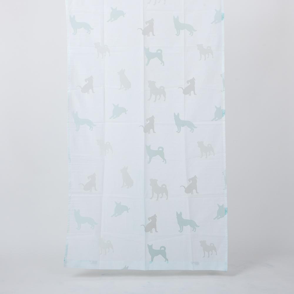 紳士犬窗紗100x180-生活工場