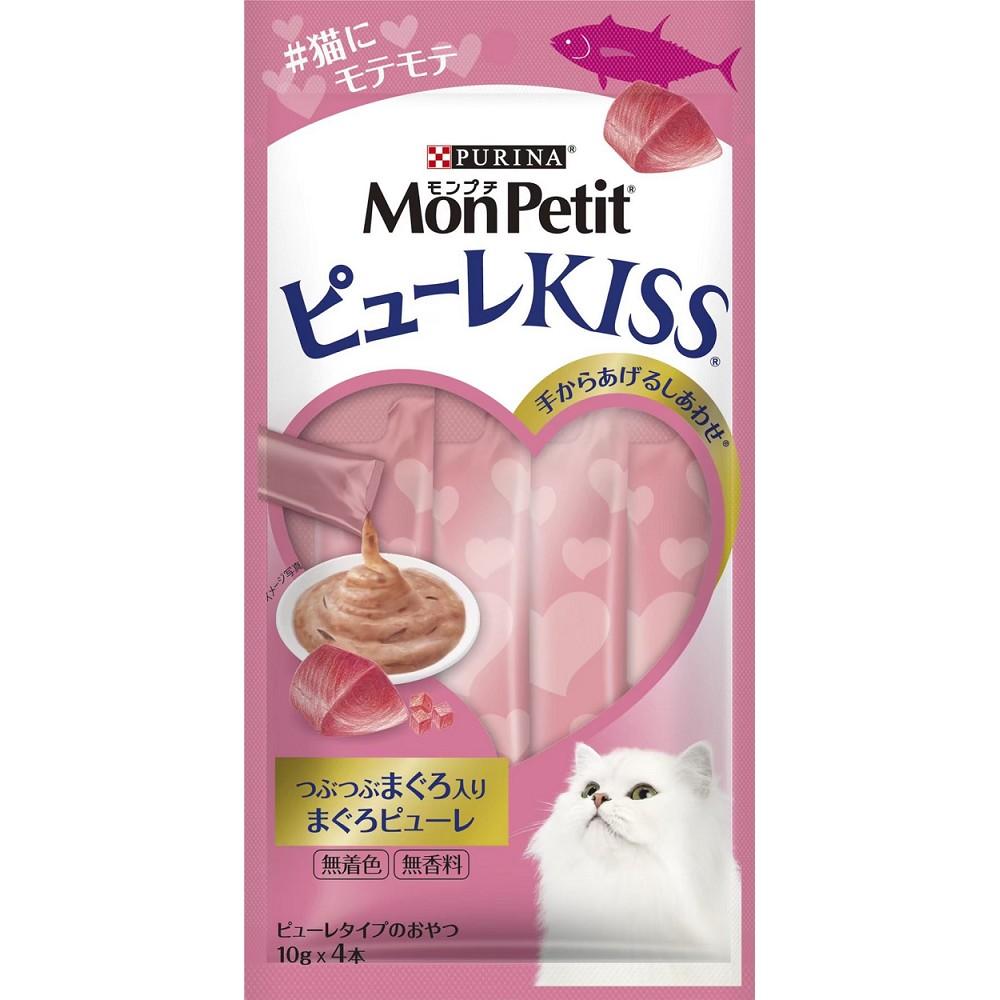 MonPetit 貓倍麗小鮮肉泥 10g*4條 6入 鮮魚雙拼口味