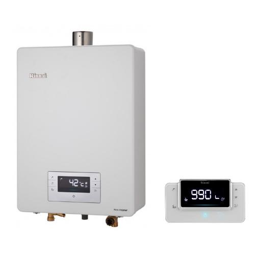 (全省安裝)林內16公升數位恆溫強制排氣贈BC-30無線遙控(與RUA-C1630WF同款)熱水器RUA-C1630WF_NG2