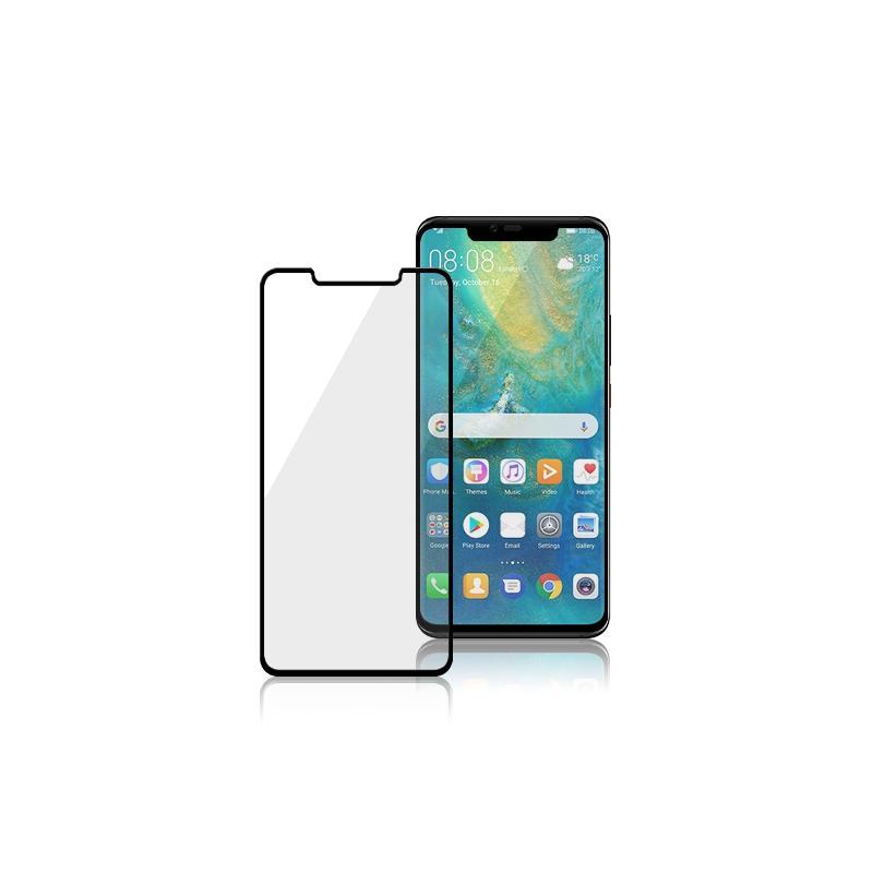 MEGA KING 3D滿版玻璃保護貼Huawei Mate 20 Pro黑