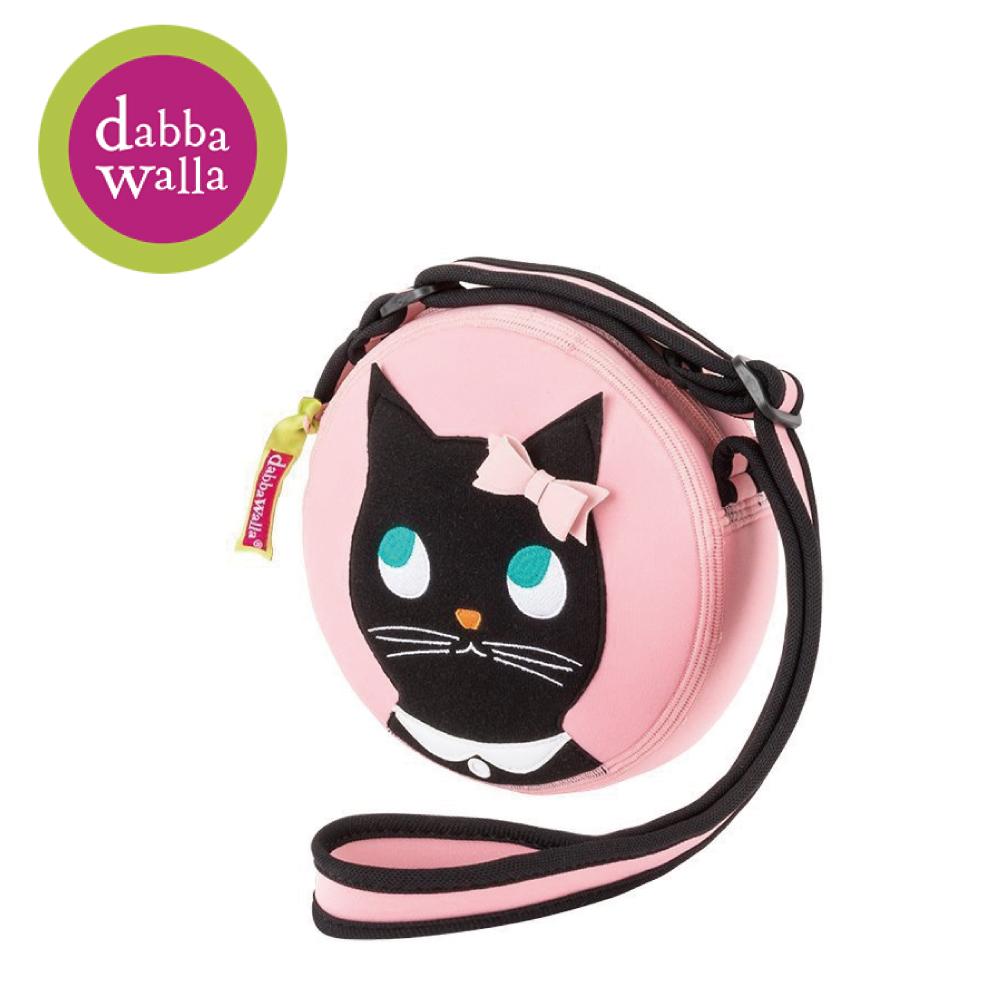 美國Dabbawalla瓦拉包 -貓咪小圓包