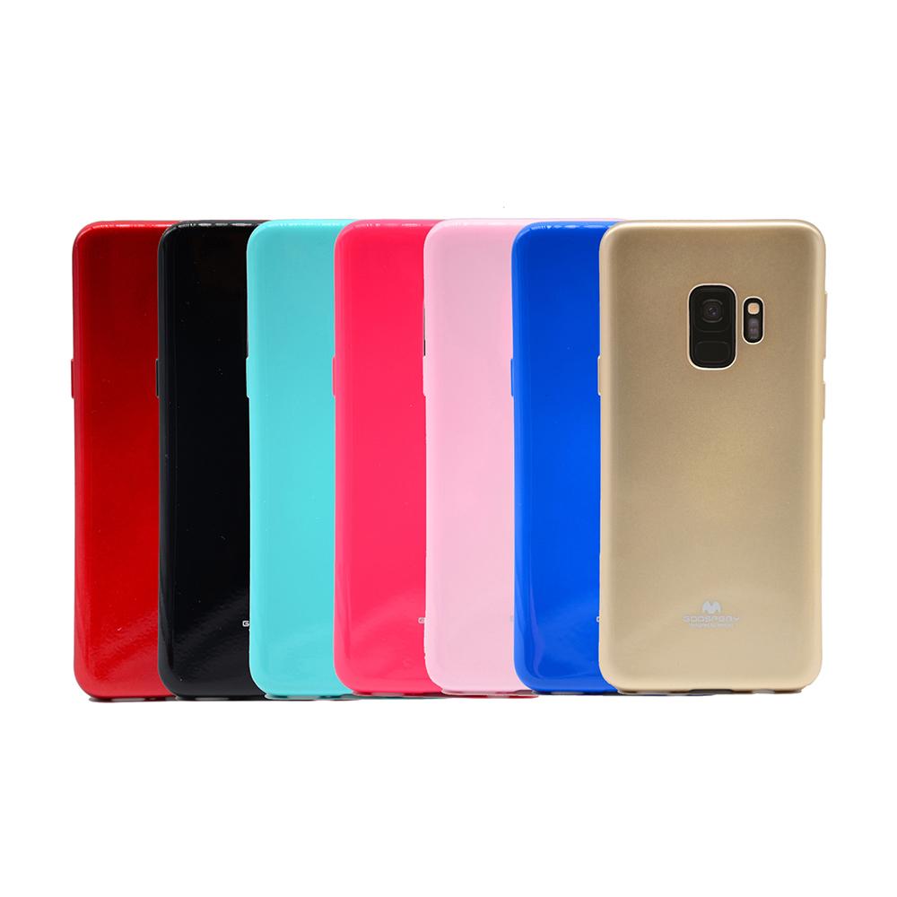 GOOSPERY SAMSUNG Galaxy S9 JELLY 閃粉套(玫紅)