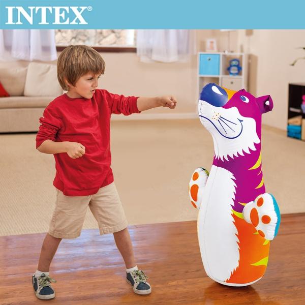 【INTEX】動物造型充氣不倒翁-老虎(44669)