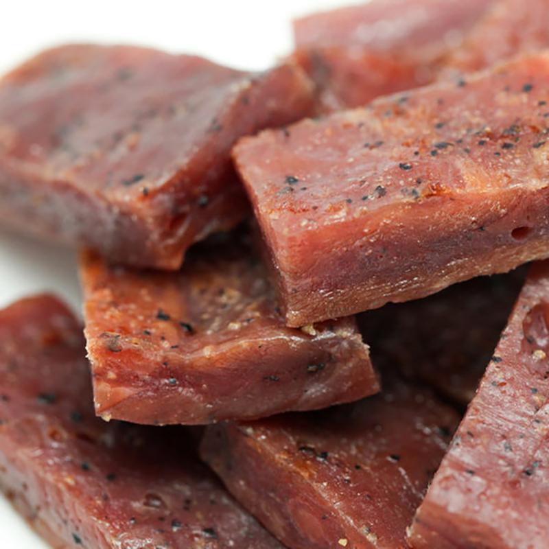 《金梓食品》黑胡椒厚片肉乾 (340g/包)