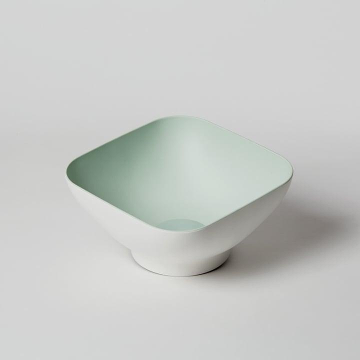 OMMO Diga 濾水方形沙拉碗/綠(二人份)