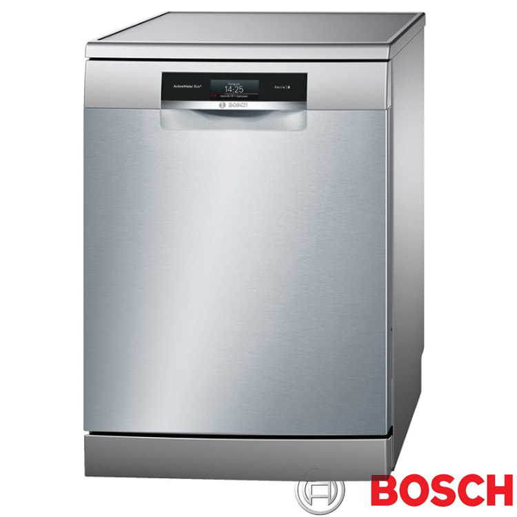 【BOSCH 博世】13人份 220V獨立式沸石洗碗機 SMS88TI01W (含原廠基本安裝)