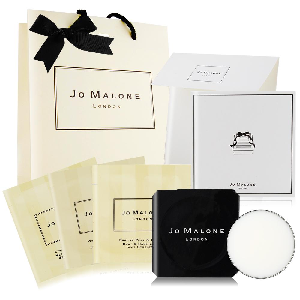 Jo Malone 牡丹溫馨獻禮香氛組(香膏+沐浴露潤膚乳X3)[附緞帶+提袋+卡片組]