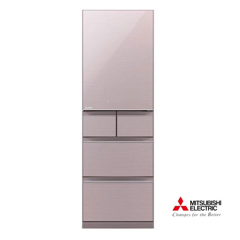 三菱455L日本原裝變頻五門電冰箱MR-BC46Z水晶粉(P)