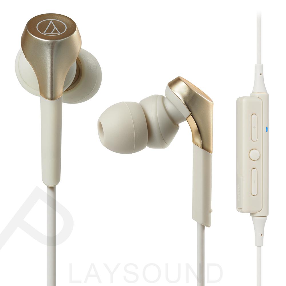 鐵三角 CKS550XBT香檳金色CG無線 藍牙 入耳式耳機
