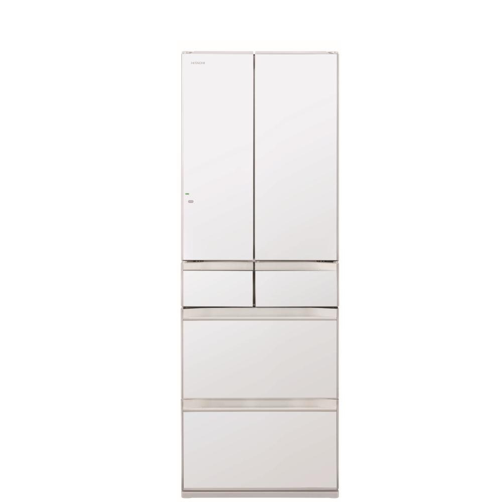 日立527公升六門-琉璃(與RHW530NJ同款)冰箱XW琉璃白RHW530NJXW