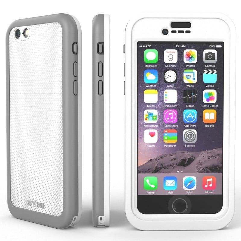【DOG&BONE 】 防水防震潛水iphone6s.6手機保護殼-銀色