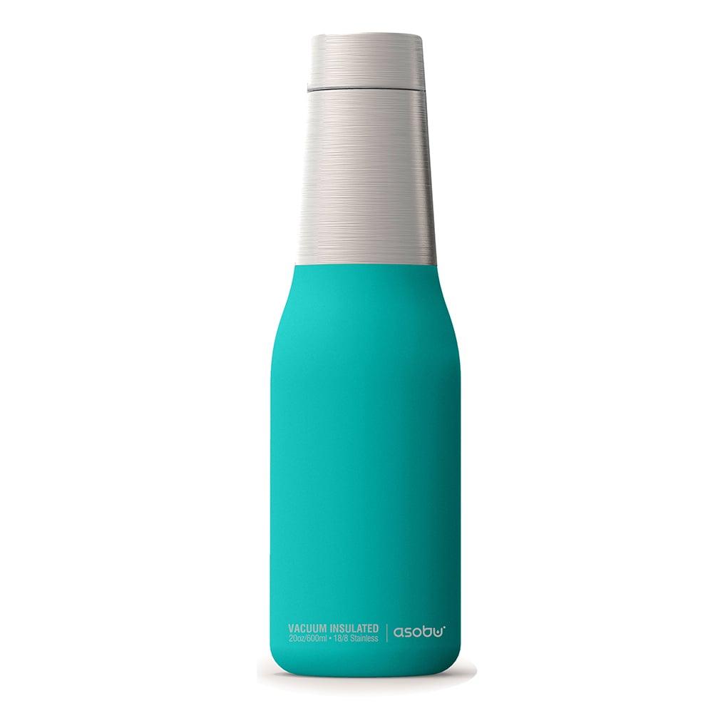Asobu 不鏽鋼繽紛雙層保溫瓶-土耳其藍