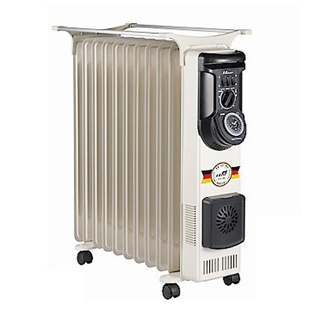 【北方】11葉片式恆溫定時電暖爐 NR-11ZL