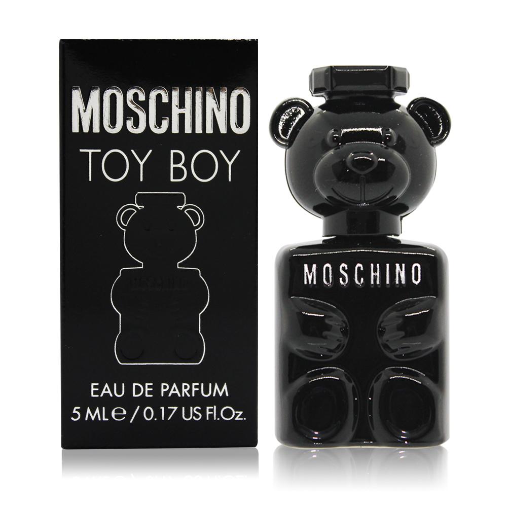 MOSCHINO 莫斯奇諾 TOY BOY 黑熊 男性淡香精(5ml)-香水公司貨
