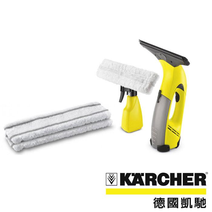 超值組合【德國凱馳 KARCHER】自動吸水玻璃刮刀 (WV50)