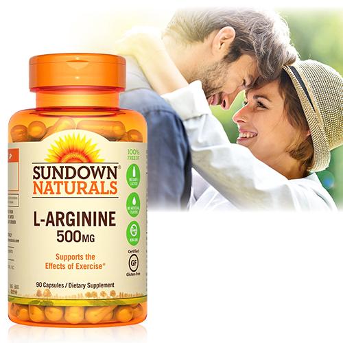 【超值優惠】美國Sundown日落恩賜 特極精胺酸(90粒/瓶)