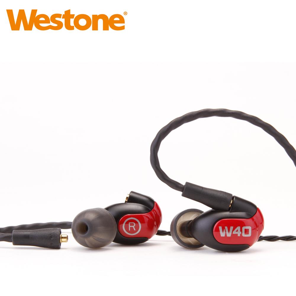 Westone W40 四單體平衡電樞暨三音路監聽級入耳式耳機