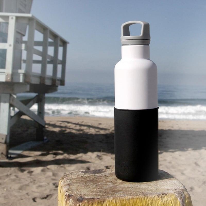 HYDY 美國時尚保溫水瓶 CinCin White 午夜黑-白瓶 590ml