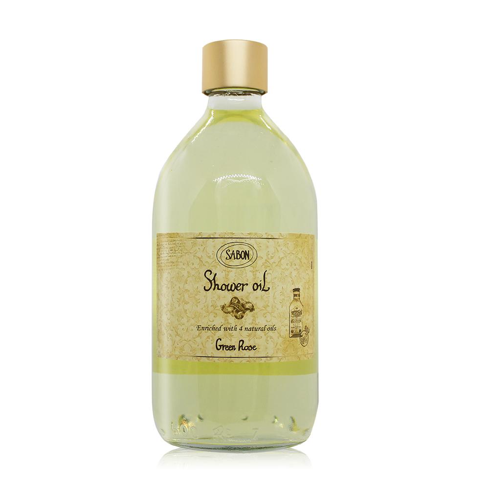 SABON 以色列綠玫瑰沐浴油(500ml)-國際航空版