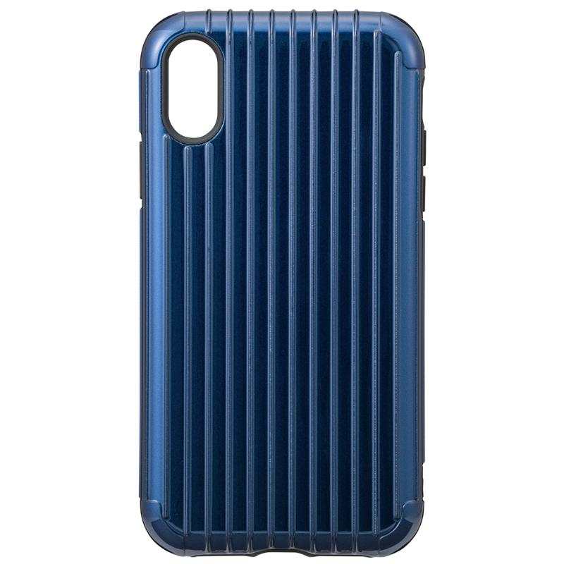 Gramas iPhone X/Xs  經典手機殼 Rib 藍