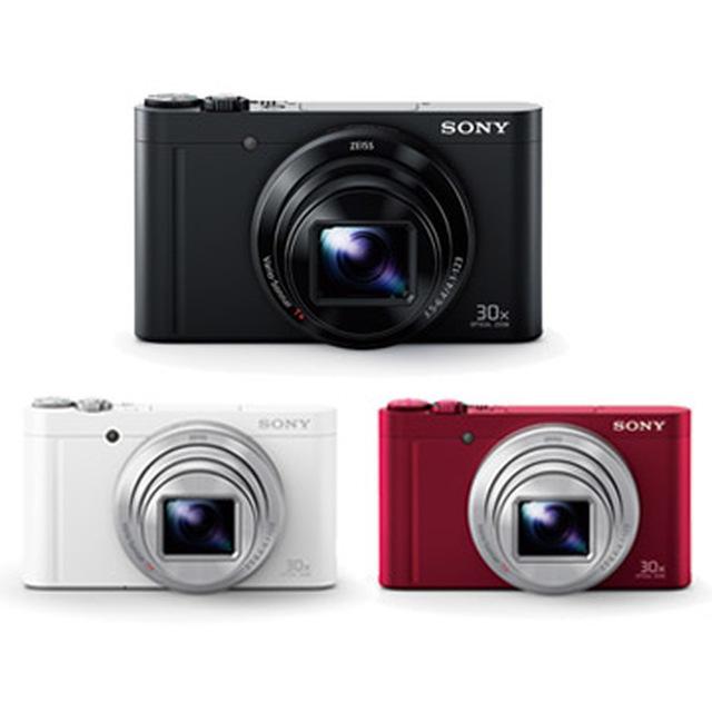 加贈原廠32G卡 SONY DSC-WX500-紅色 光學30倍 (公司貨) 再送32G高速卡+專用電池+專用座充+拭鏡筆+清潔組+讀卡機+螢幕貼~