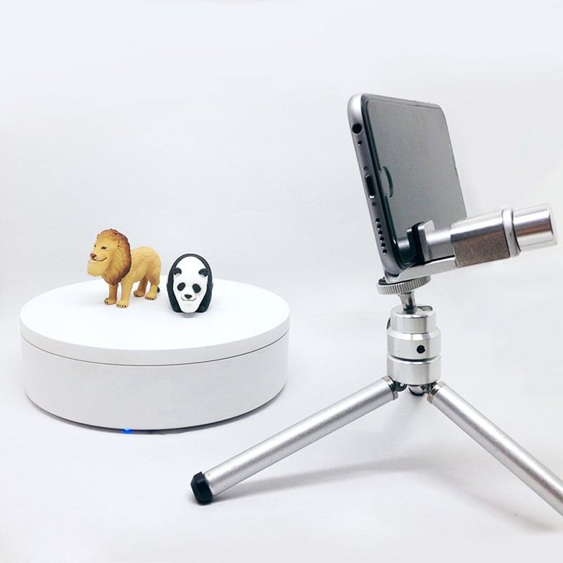 【台灣 ASTA】環物攝影轉台+多功能手機支架