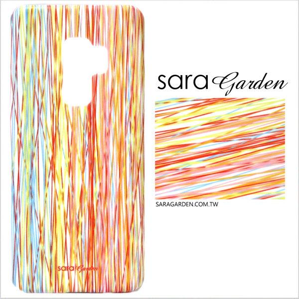 【Sara Garden】客製化 手機殼 Samsung 三星 A7 2017 保護殼 硬殼 潮流線條