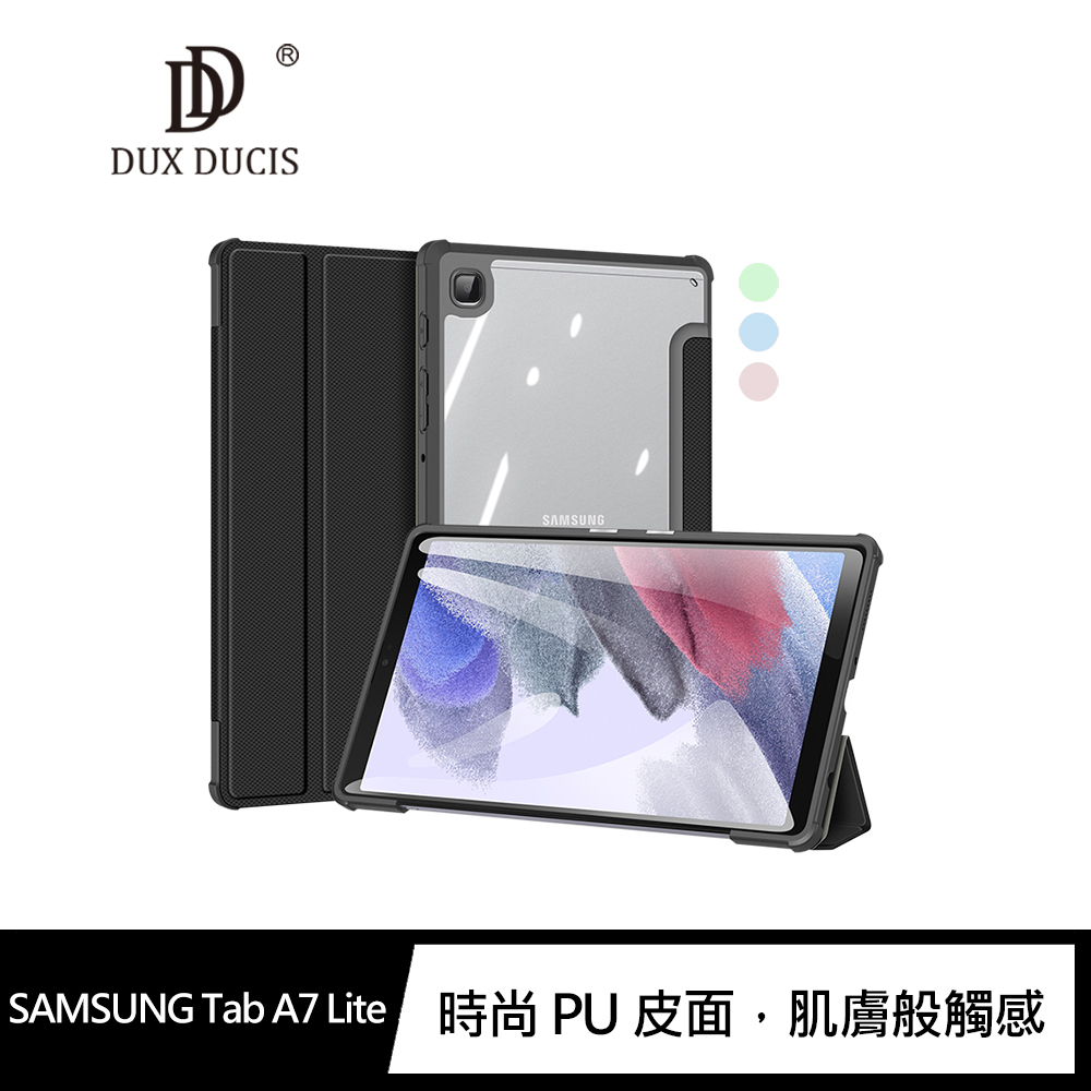 DUX DUCIS SAMSUNG Tab A7 Lite TOBY 皮套(黑色)