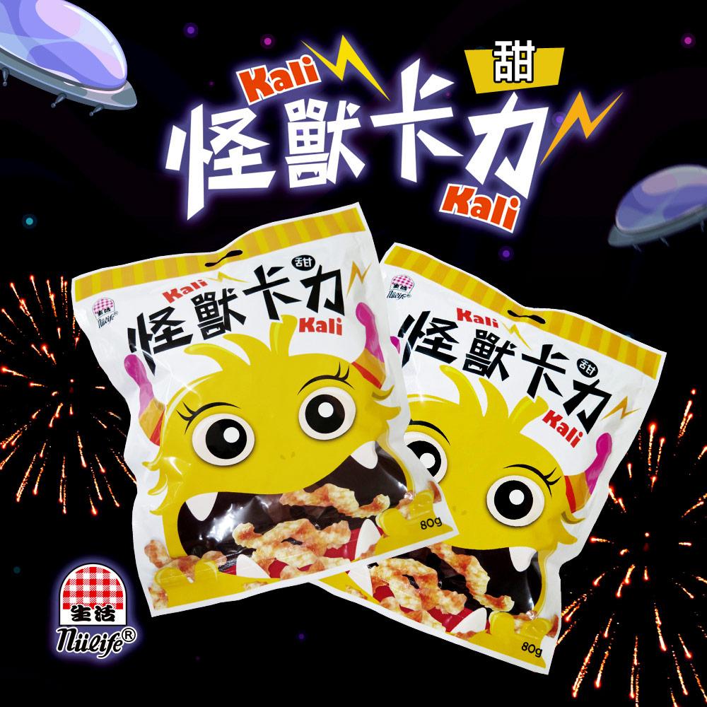 《生活飲料》生活怪獸卡力卡力餅乾(甜味)12包/箱,共2箱