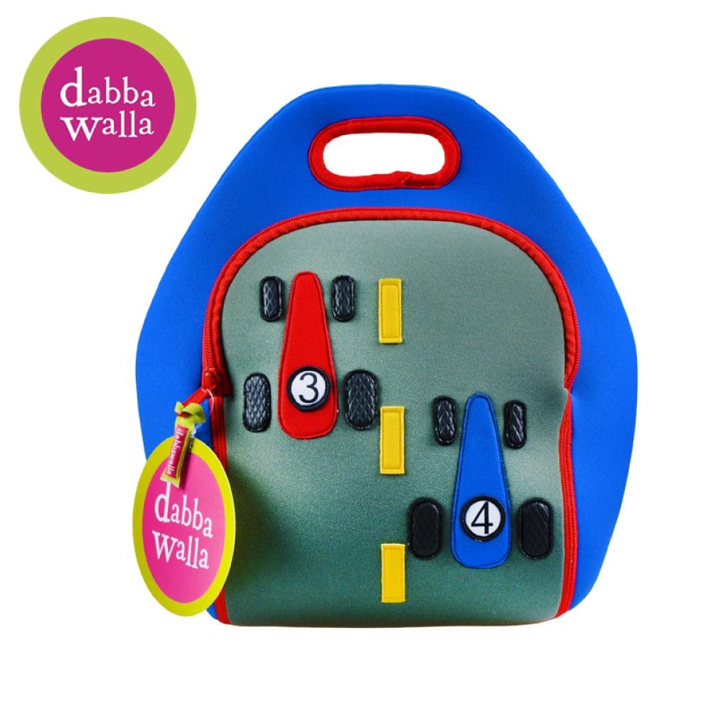 美國Dabbawalla瓦拉包 -賽車兒童手提包