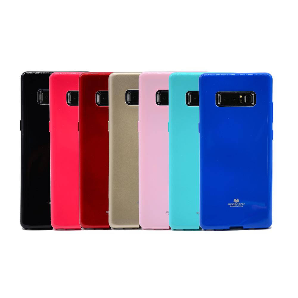 GOOSPERY SAMSUNG Galaxy Note 8 JELLY 閃粉套(黑色)