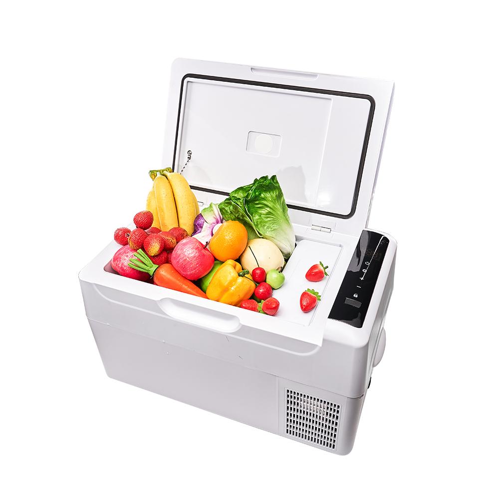 【冰炫風】手機APP控溫 壓縮機 行動冰箱22公升 (贈變壓器) 行動冰箱 車用冰箱 汽車冰箱 車載小冰箱 數位冰箱 可結冰 低溫-20度