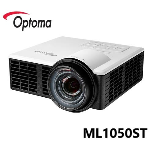 【OPTOMA 奧圖碼 】ML1050ST 微型短焦LED投影機 1000流明 ★贈2M HDMI線★