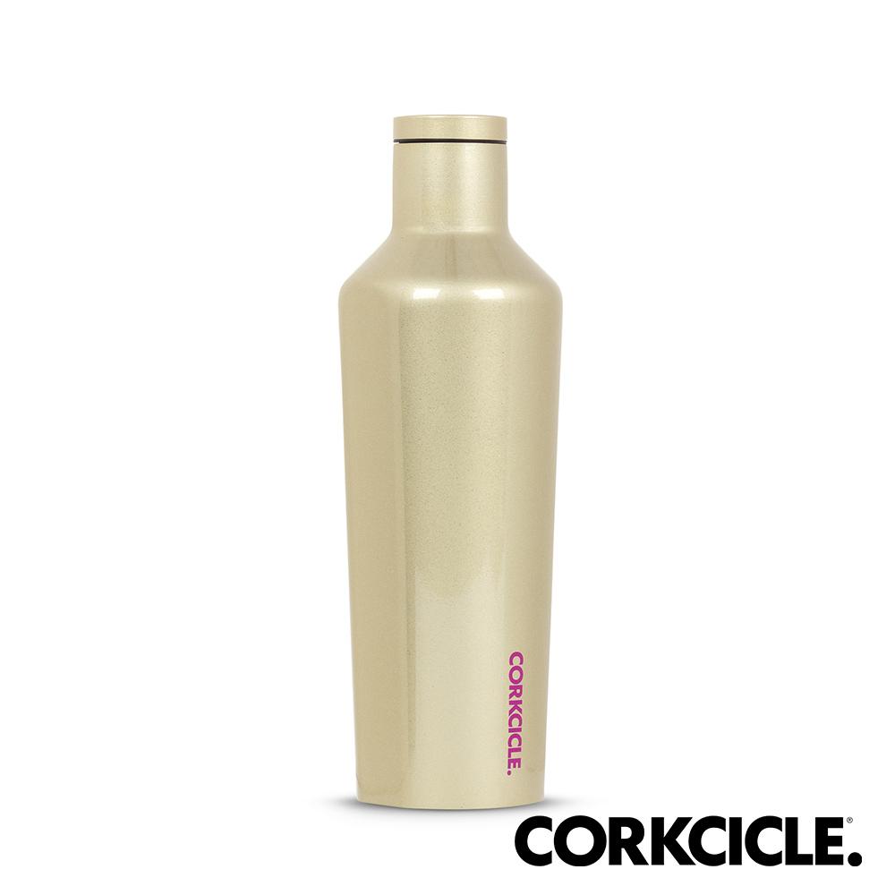 美國CORKCICLE Unicorn Magic系列三層真空易口瓶/保溫瓶470ml-香檳金