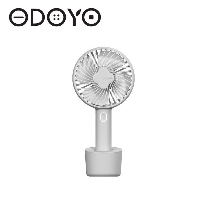 ODOYO FaceAir W9手持風扇-晨霧灰