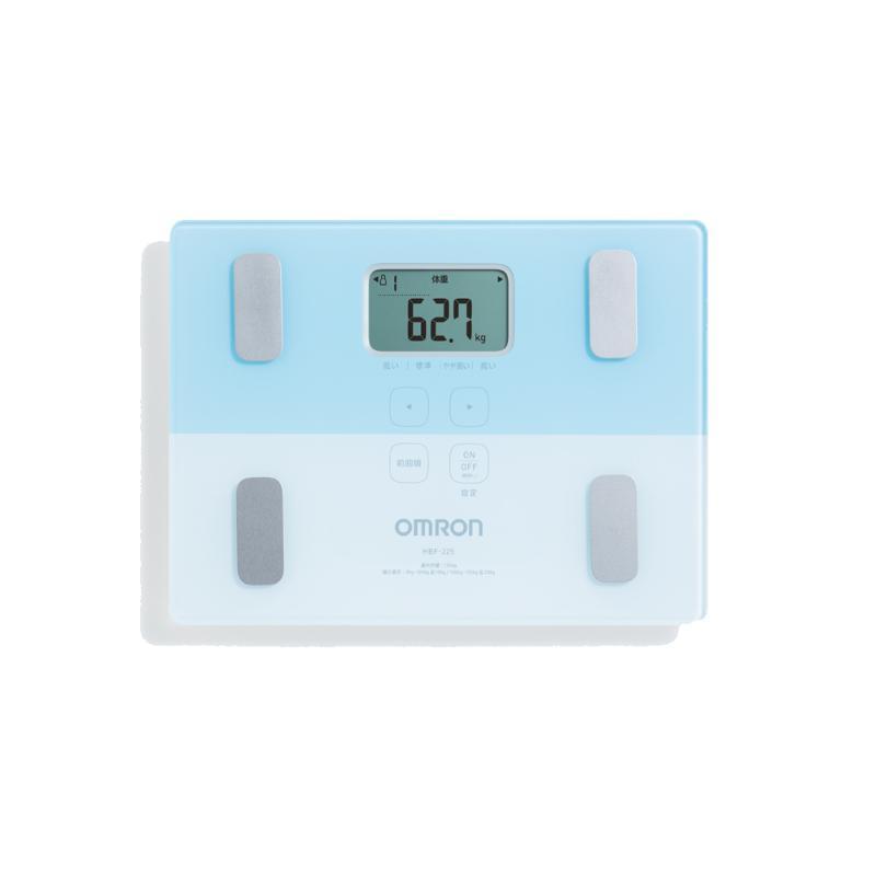 OMRON歐姆龍 HBF-225 體重體脂肪計 藍【星展銀行指定新戶禮】