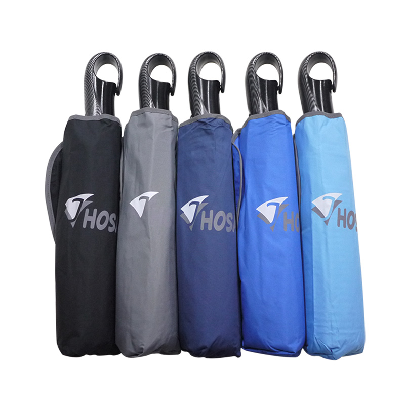 【HOSA】雙反光大傘面自動傘-水藍