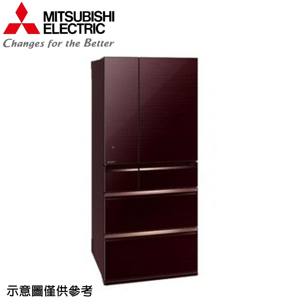 【MITSUBISHI 三菱】705公升日本原裝變頻六門冰箱MR-WX71Y-BR