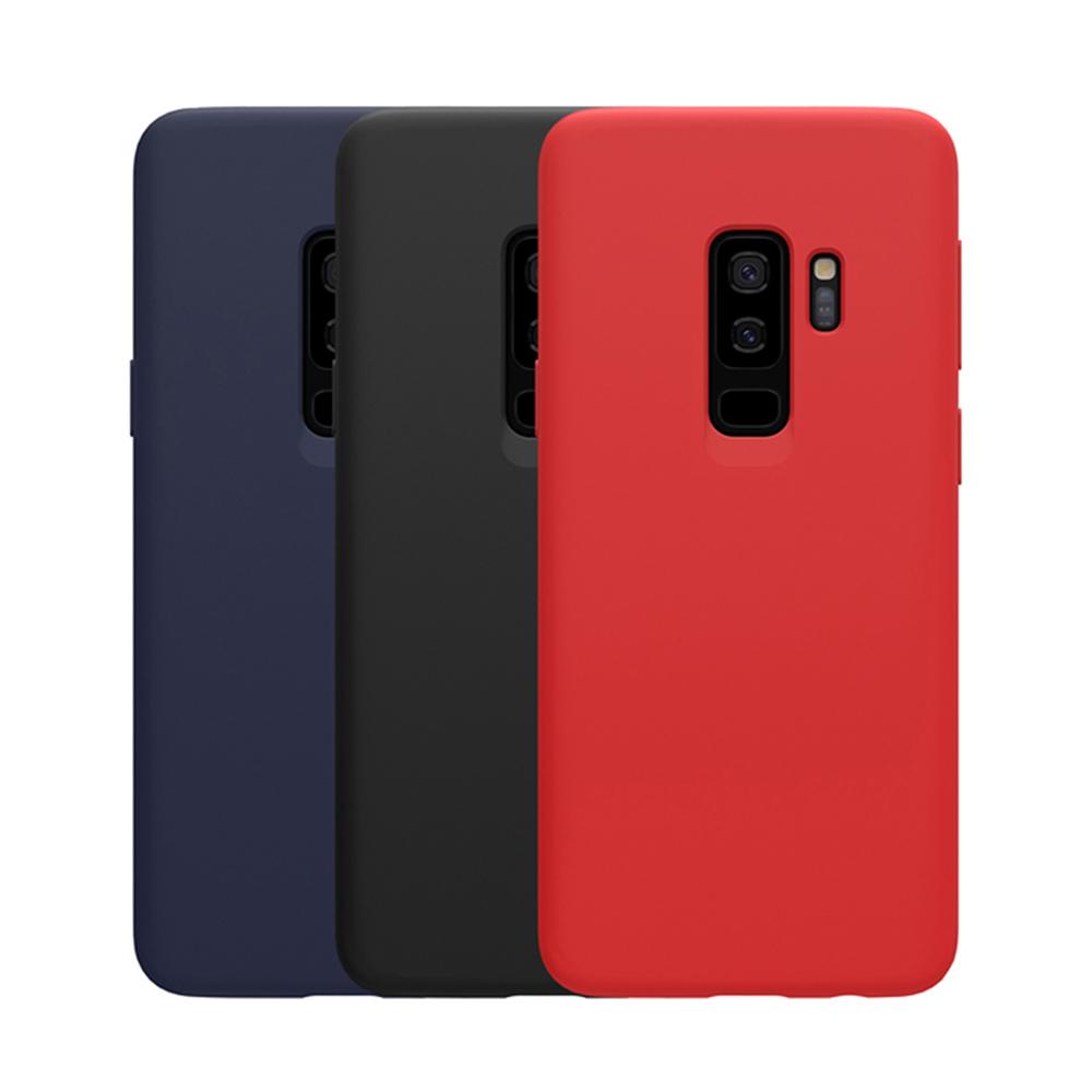 NILLKIN SAMSUNG Galaxy S9+ 感系列液態矽膠殼(黑色)