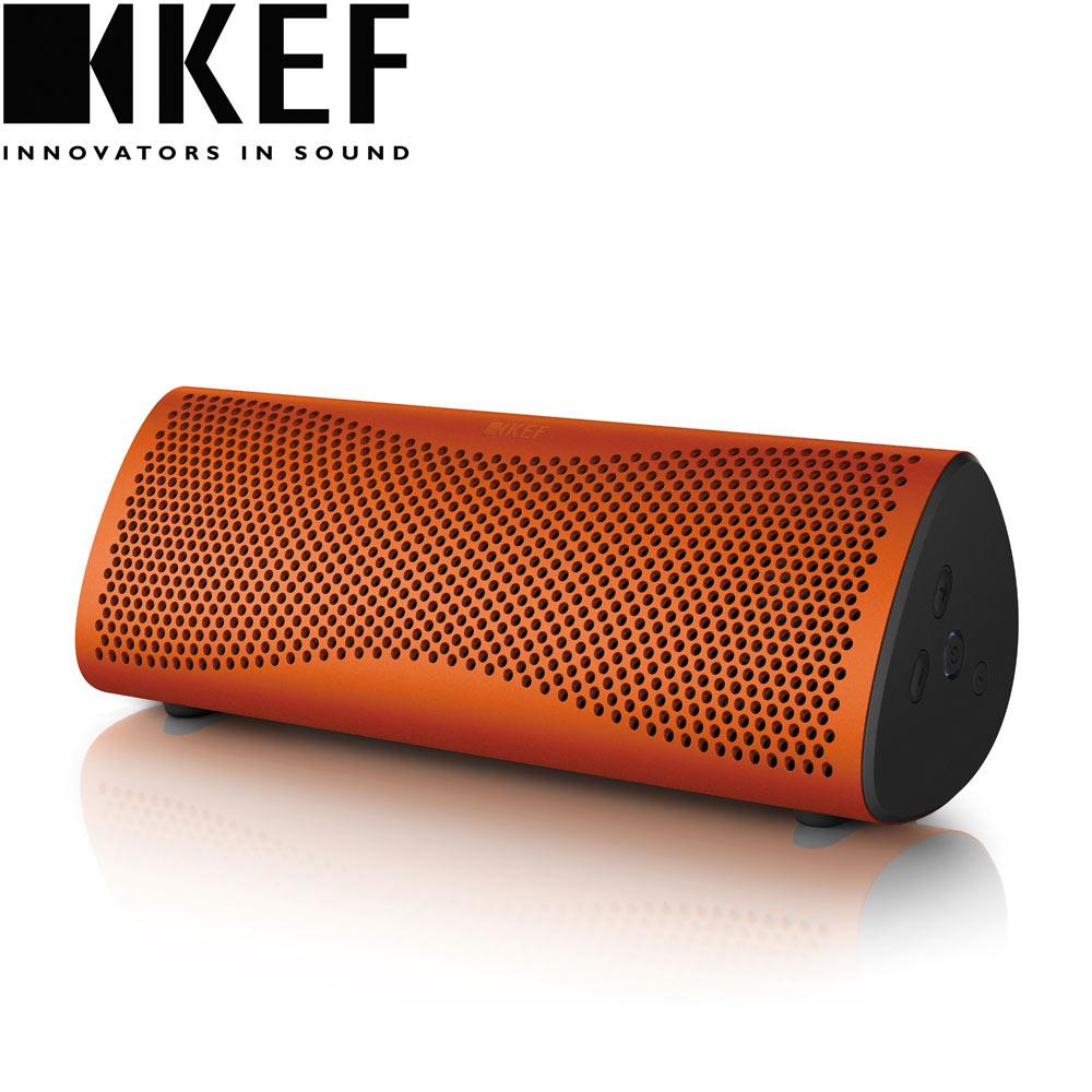 英國  KEF MUO 藍牙無線喇叭 - 橘色