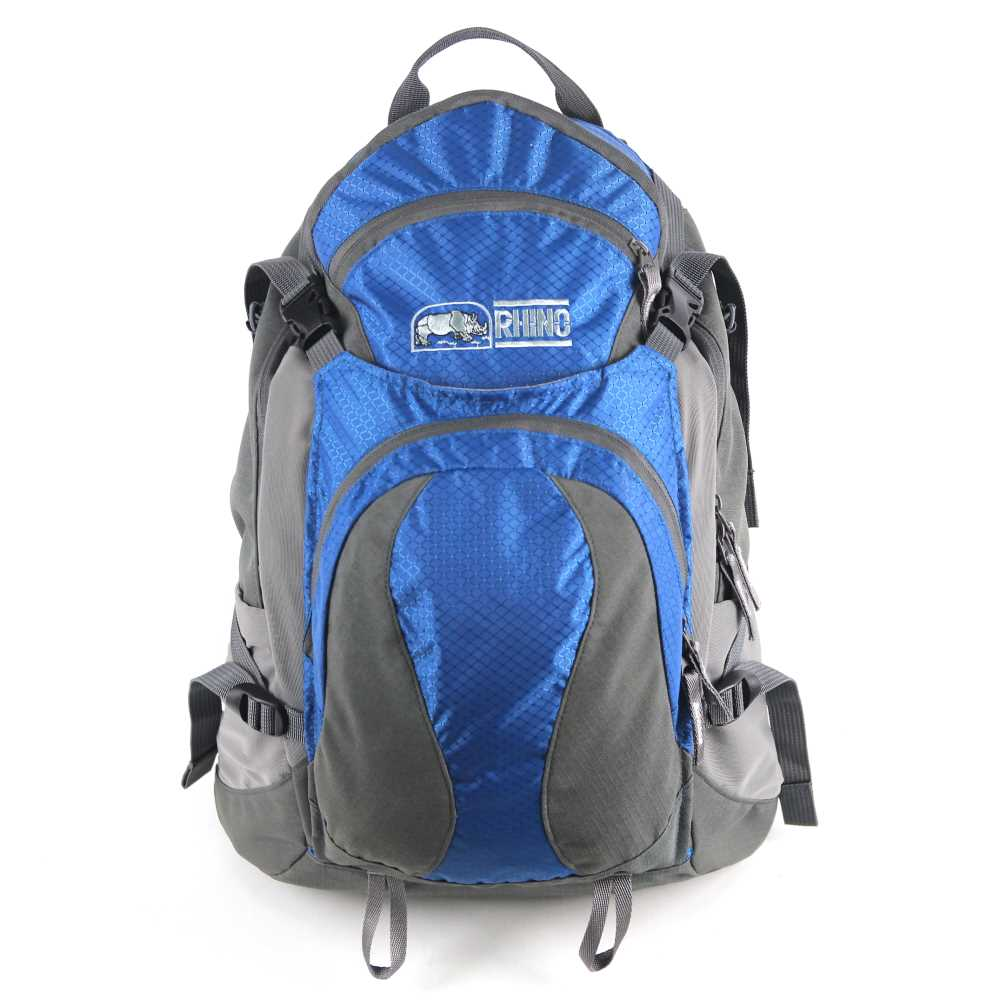 犀牛 RHINO  TrekLite 19公升透氣網架背包-藍